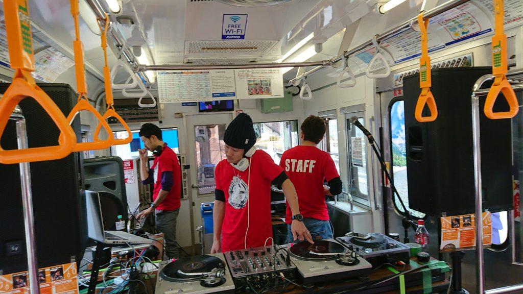 アニソン列車の旅!これからも長野県でワクワクするエンタメ作ってくよ!